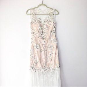 GIGI Iridescent Stones Wedding Dress